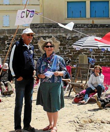 Sylvie Gourdon et Alain Uguen au Ris le 10-08-2016